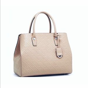 Henri Bendel Empire Leather Tote Handbag NWT